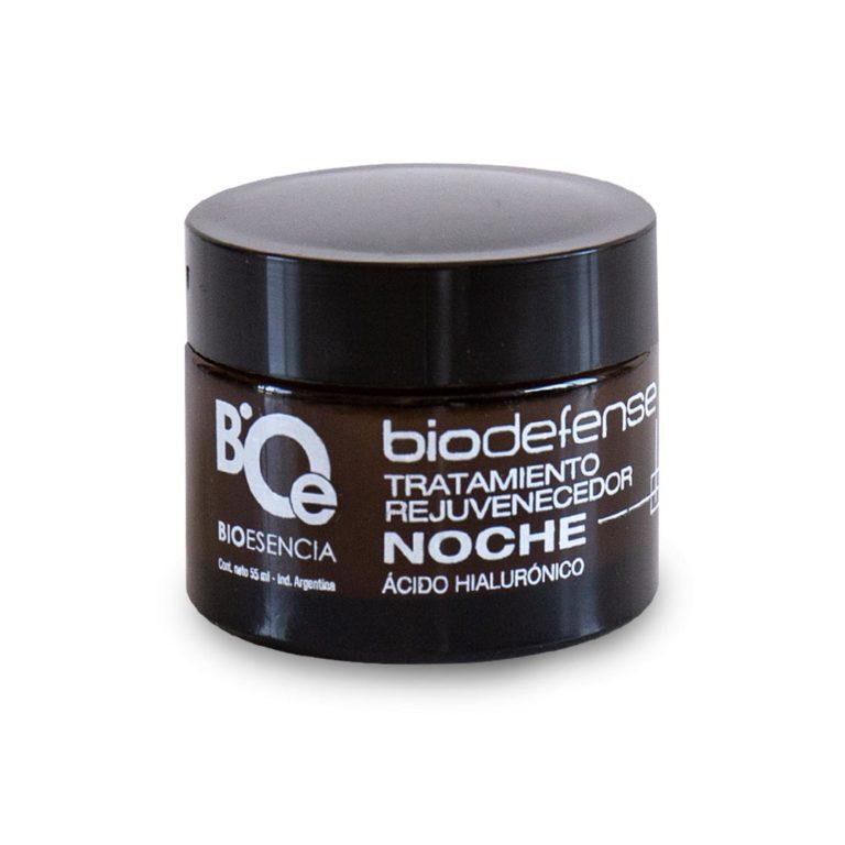 Crema noche biodefense con ácido hialurónico